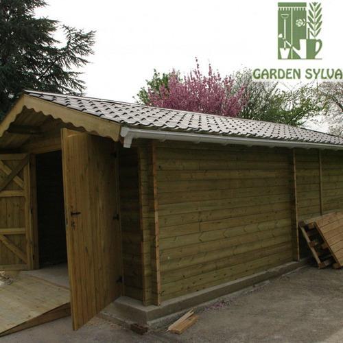 Garden Sylva - Aménagement extérieur - Réalisation de carports et chalets